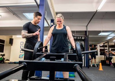 KM Fitness personal training with Kevin