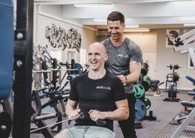 Personal training with Kevin from KM Fitness