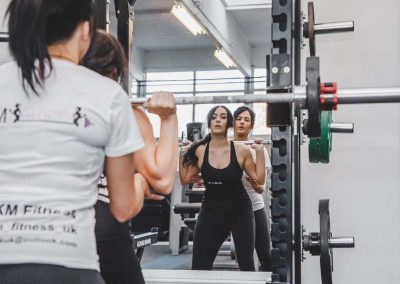 Personal training with Kelly of KM Fitness